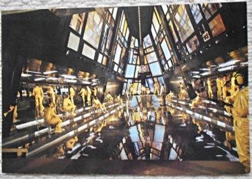 Moonraker, Original French still, James Bond in the Space Station, '79 (JB25)